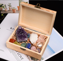The Master Crystal Gift Set + Wooden Box - 11 pc.