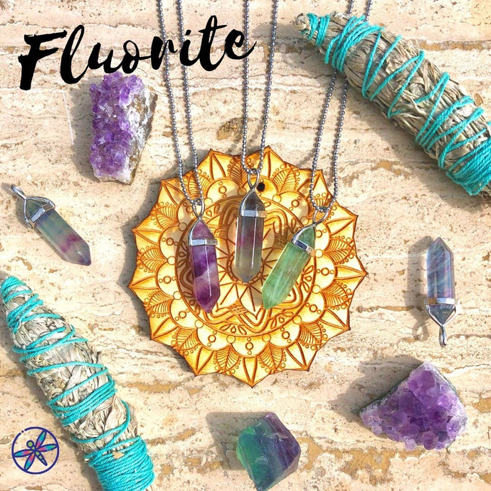 Fluorite Crystal Bundle