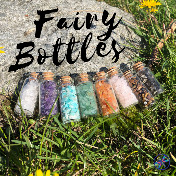 Single Crystal Fairy Bottle