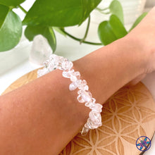 Clear Quartz Chips Bracelet