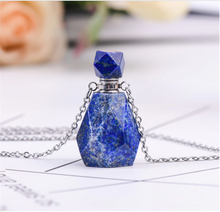 Crystal Essential Oil Necklace