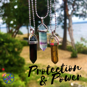 Protection & Power Crystal Bundle