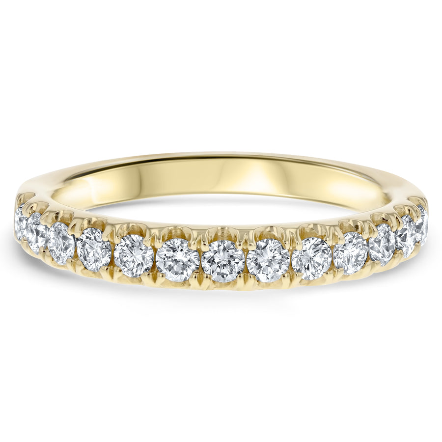 Diamond Wedding Band , 0.54 Carats