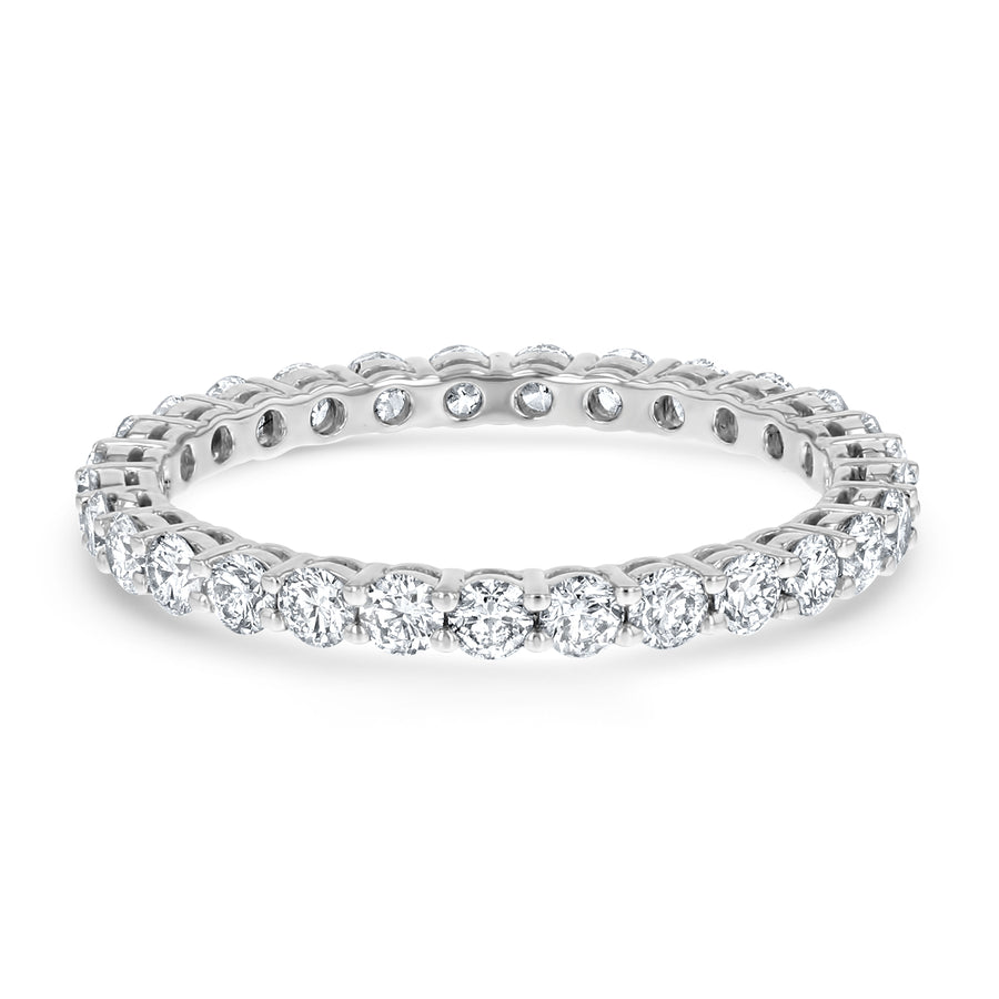 Round Diamond Open Basket Eternity Band - R&R Jewelers