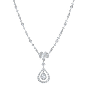 Diamond Tear Drop Necklace - R&R Jewelers