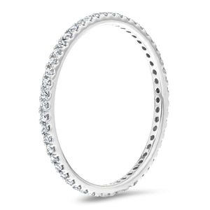 Diamond Pavé Eternity Band - R&R Jewelers
