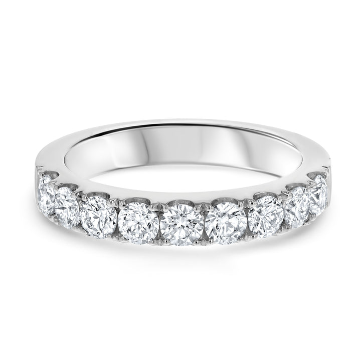 Half Way Diamond Wedding Band, 1 carat - R&R Jewelers