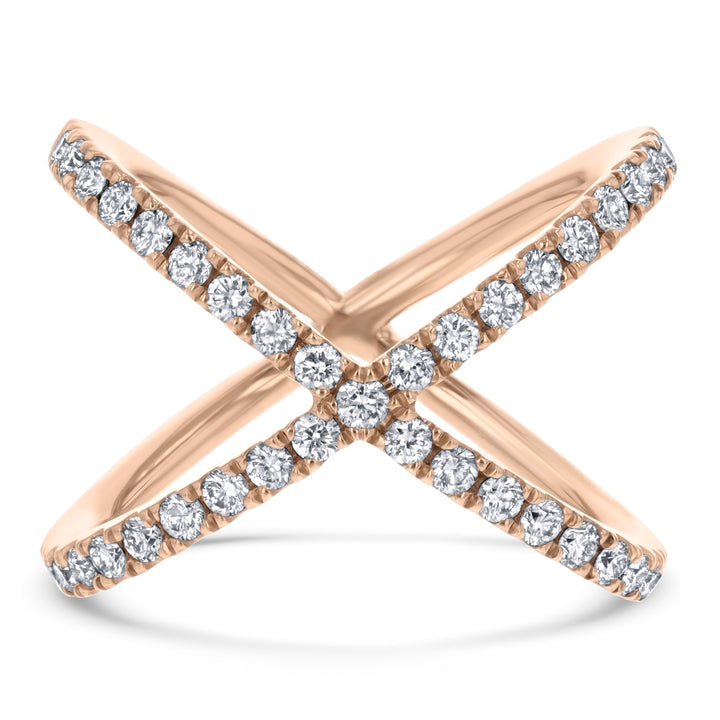 Diamond X Statement Ring - R&R Jewelers