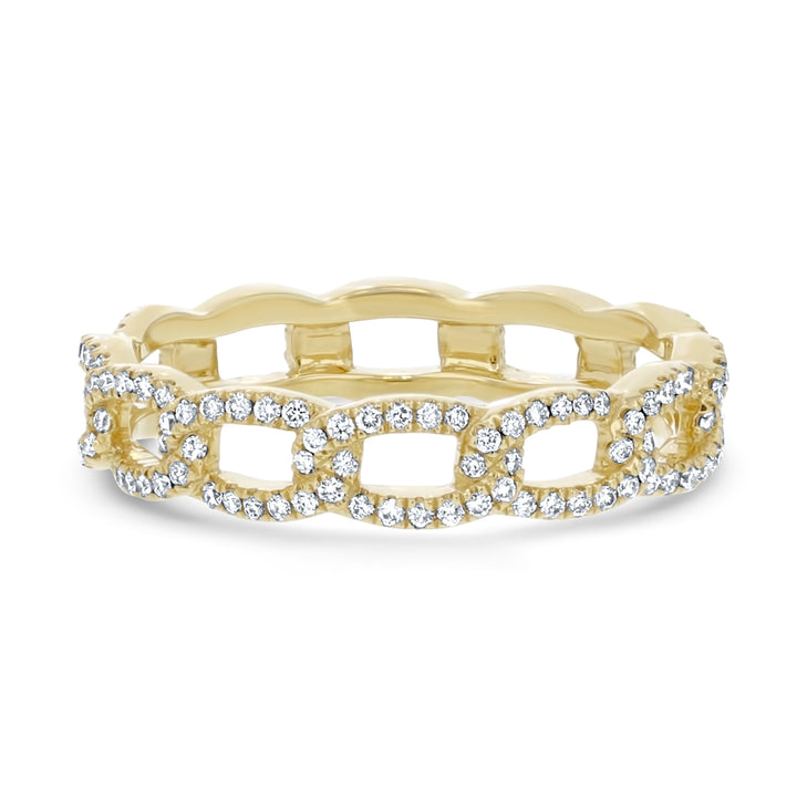 Diamond Eternity Link Ring - R&R Jewelers