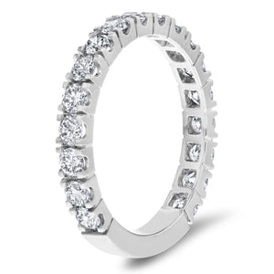 Diamond Wedding Band, 1.18 Carats