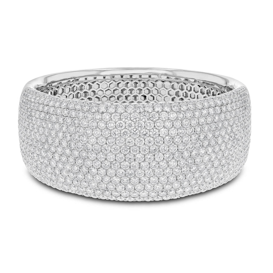 Diamond Pavé Bangle - R&R Jewelers