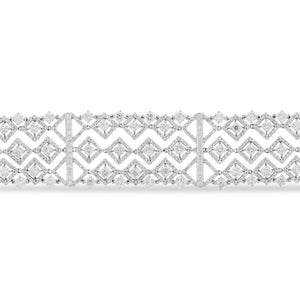 Five Row Diamond Bracelet - R&R Jewelers