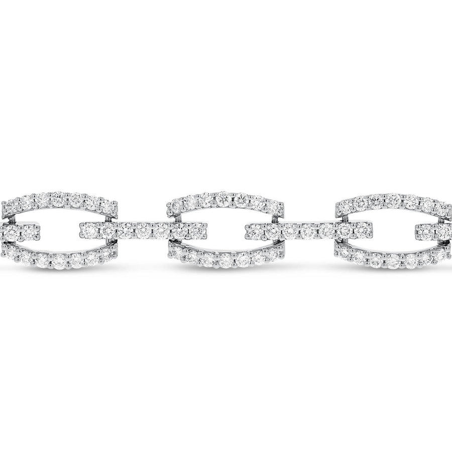 Diamond Link Bracelet - R&R Jewelers