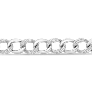 Diamond Cuban Link Bracelet - R&R Jewelers