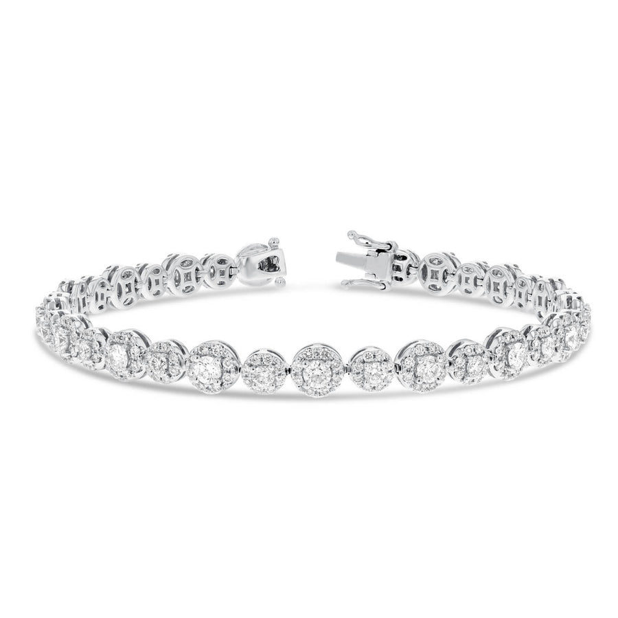 Illusion Set Diamond Bracelet - R&R Jewelers