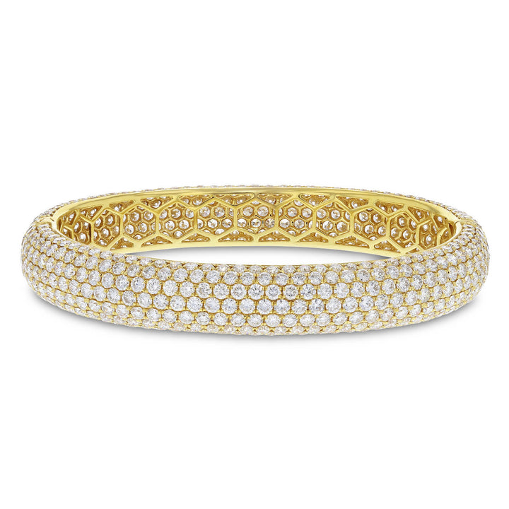 Diamond Pave Bangle - R&R Jewelers