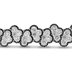 18K White Gold Diamond Bracelet, 21.31 Carats