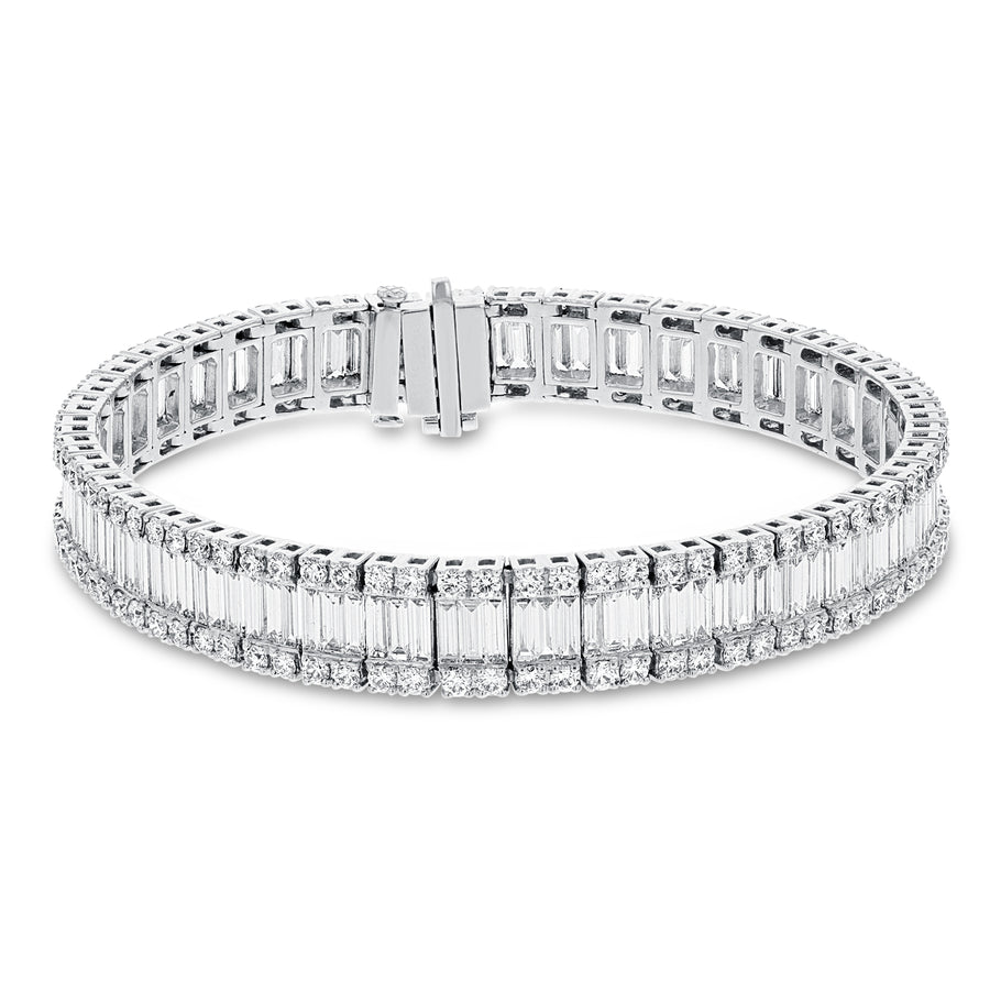 Diamond Baguette Bracelet - R&R Jewelers
