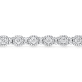 Diamond Halo Bracelet - R&R Jewelers