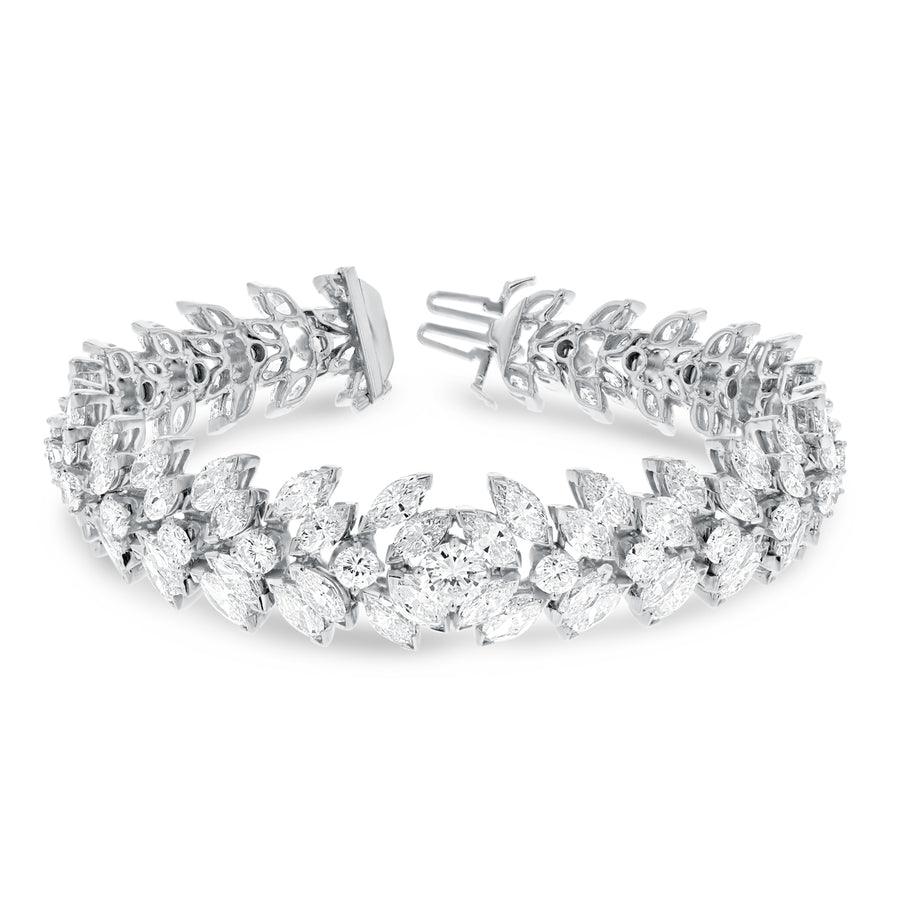 Marquise Diamond Bracelet - R&R Jewelers