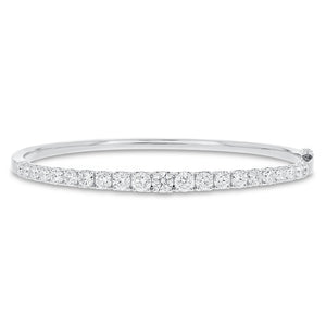 Graduated Diamond Bangle - R&R Jewelers
