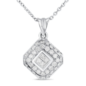 Diamond Drop Pendant - R&R Jewelers
