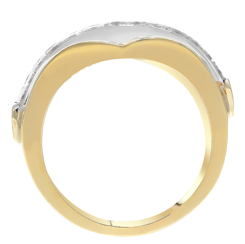 Invisible Set Diamond Statement Ring - R&R Jewelers