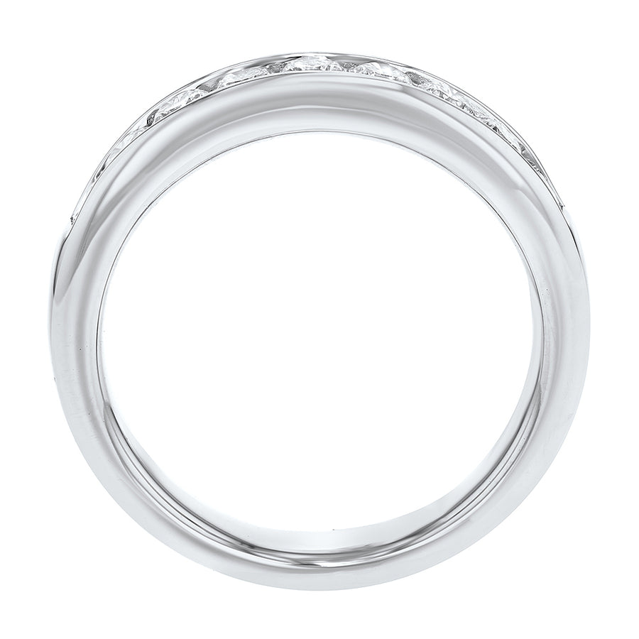 Channel Set Diamond Wedding Band - R&R Jewelers