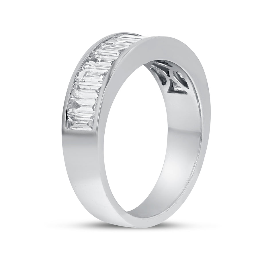 Baguette Diamond Wedding Band - R&R Jewelers