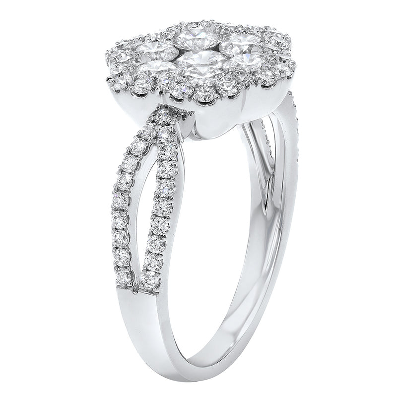 Diamond Cluster Statement Ring - R&R Jewelers