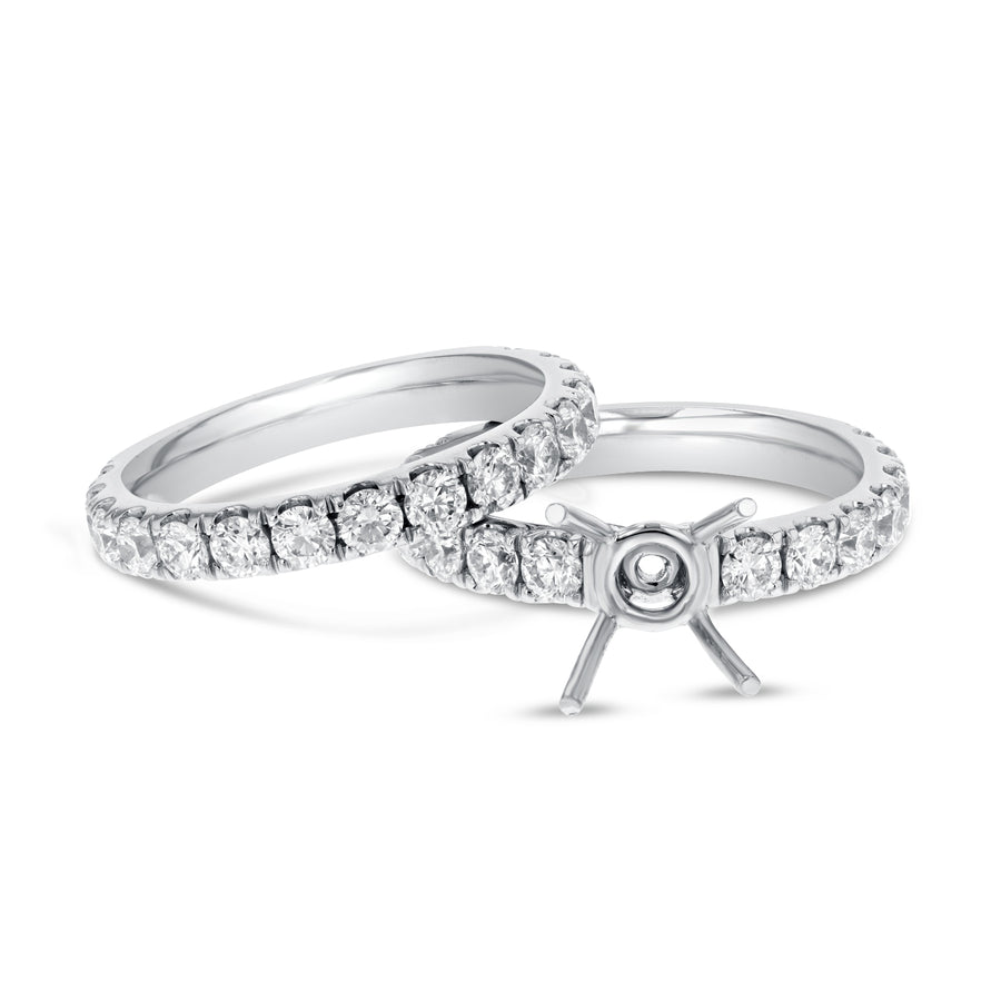 Diamond Engagement Ring Set - R&R Jewelers