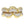 18K Yellow Gold Statement Ring, 0.84 Carats