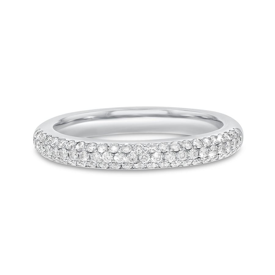 18K White Gold Statement Ring, 1.48 Carats