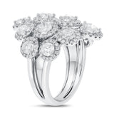 18K White Gold Statement Ring, 3.95 Carats - R&R Jewelers