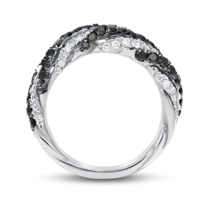 18K White Gold Statement Ring, 1.51 Carats - R&R Jewelers