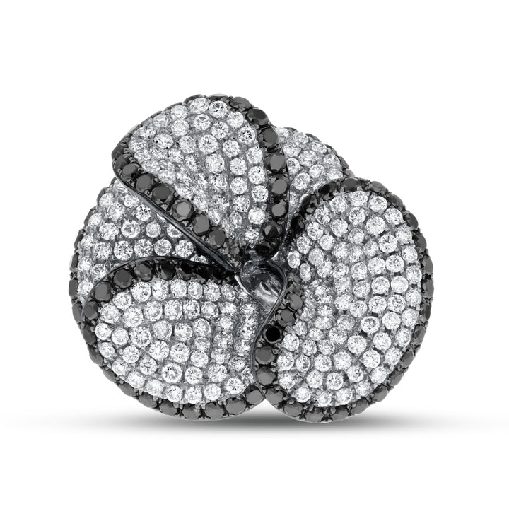 Diamond Floral Statement Ring - R&R Jewelers