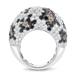 18K White Gold Statement Ring, 10.05 Carats - R&R Jewelers