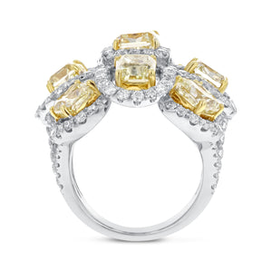 Fancy Yellow Diamond Statement Ring - R&R Jewelers