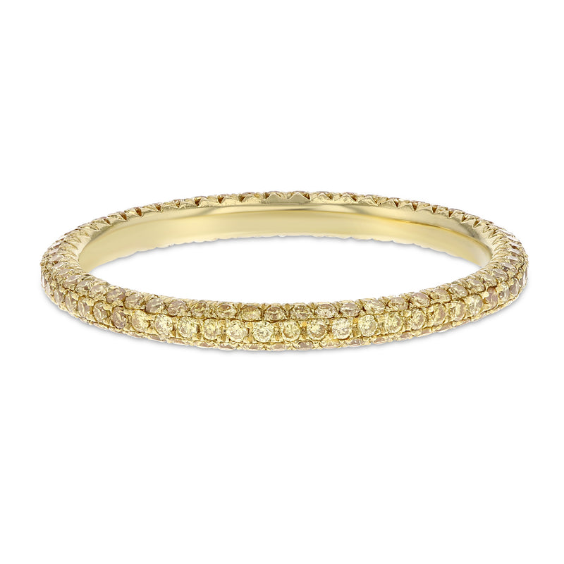 Yellow Diamond Eternity Band - R&R Jewelers