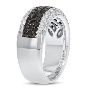 18K White Gold Diamond Statement Ring, 1.50 Carats - R&R Jewelers