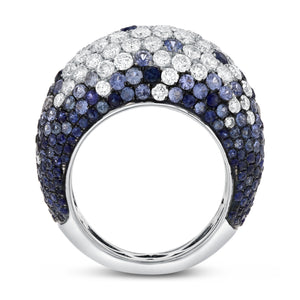 Multi Color Sapphire Statement Ring - R&R Jewelers