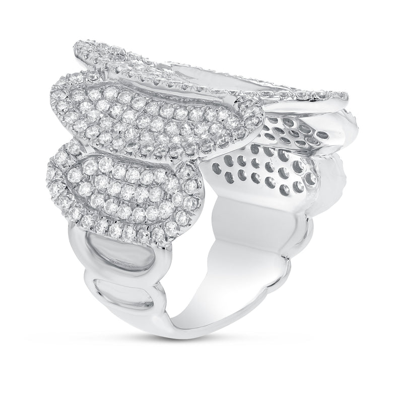 18K White Gold Statement Ring, 2.24 Carats - R&R Jewelers