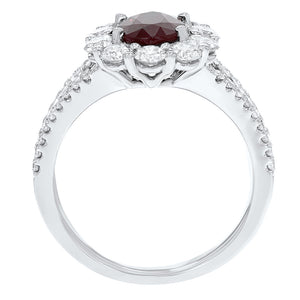 Diamond and Ruby Statement Ring - R&R Jewelers