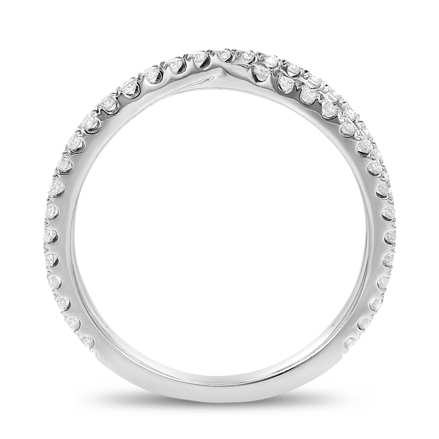 Crossover Diamond Statement Ring - R&R Jewelers