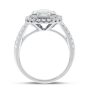 Illusion Set Diamond Engagement Ring - R&R Jewelers