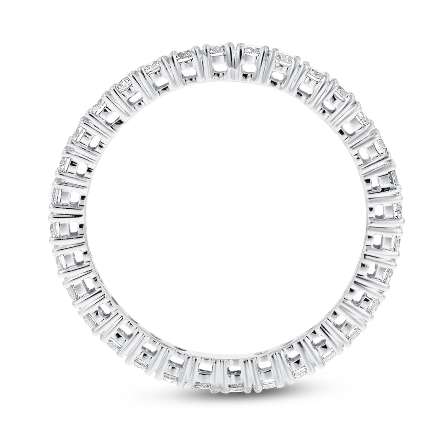 Diamond White Gold Eternity Band, 0.79 Carats - R&R Jewelers