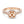 Diamond Halo Split Shank Semi-mount Ring, 0.76 Carats - R&R Jewelers
