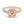 Diamond Halo Split Shank Semi-mount Ring, 0.77 Carats - R&R Jewelers