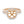 18K Rose Gold Semi-mount Ring, 0.96 Carats