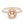 Diamond Halo Semi-mount Ring, 0.59 Carats - R&R Jewelers